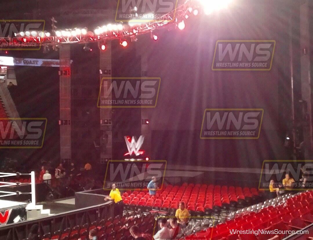 PHOTO: New WWE Entrance Ramp Logo Revealed