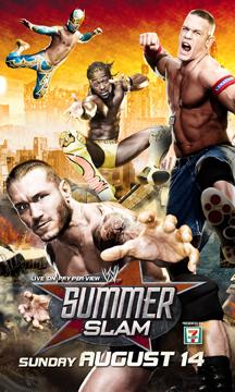 Photo Wwe Summerslam 2011 Ppv Poster Wrestlingnewssourcecom