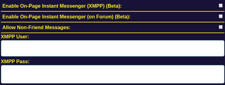Wrestlr.Me XMPP Details